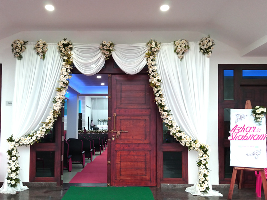stage arrangements & decor